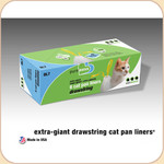 Van Ness Litter Pan Drawstring Liners--XGiant