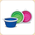 Portable Silicone Collapsible Bowl/ 1 cup