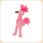 Flat Pink Flamingo Mini