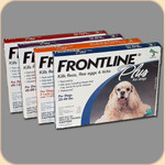Frontline Plus for Dogs & Puppies--3 Month Supply