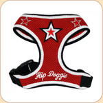 Mesh Star Harness Red