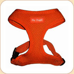Mesh Harness in Orange