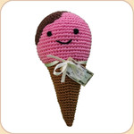 Crocheted Natty Ice Cream Cone