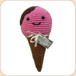 Crocheted Natty Ice Cream Cone