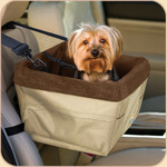 Car Booster Skybox Seat in Khaki