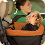 Car Booster Skybox Seat in Black