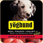 Yoghund Frozen Yogurt Apple & Cheddar