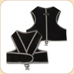 Harness in Sport Mesh--Black