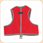 Harness in Sport Mesh--Red