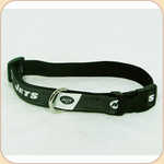 Team Premium Collar--Jets--Ribbon on Webbing