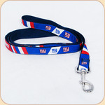 Team Premium Leash-Giants-Ribbon on Webbing