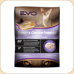 EVO Turkey &amp; Chicken Formula Cat / Kitten Food