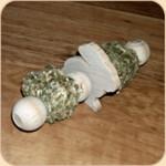 Jumbo Hay Rattle Bunny Toy