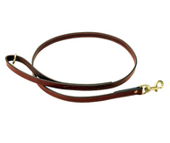 English Bridle Leather Dog Leash