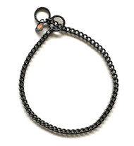 HS 2mm Black Choke Chain