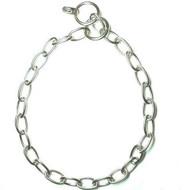 Short link ss fur saver dog collar