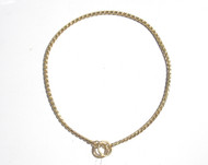 Snake Show Chain - 2MM in Chrome or Gold