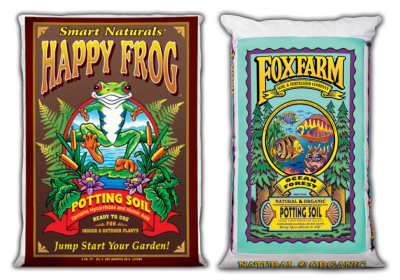 Happy Frog & Ocean Forest Foxfarm Organic Soil
