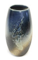 Blue Lava Stroke Flower Vase