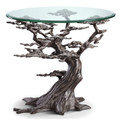 Cypress Tree End Table