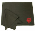 2 Sets Black Linen Placemat/Napkin