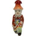 Red Little Emperor Snuff Bottle