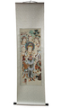 7 Goddess Silk Scroll