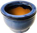 """6"""" Rd Self Water Pot Light Blue"""