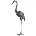 Patina Crane 55 Standing Art Lg