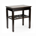Marble Top Straight Leg Side Table