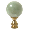 Celadon Jade Ball Finial Large