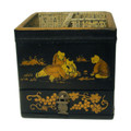 Hand painted Asian Remote Control/ Desk Organizer