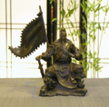 Bronze Sitting General Kwan