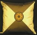 18 Sun Flower Cream Cross Pillow