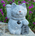 Small Granite Fortune Cat