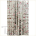 Vertical Blossom Linen Noren Curtain