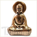 Cold Cast Bronze Buddha with Heart Sutra