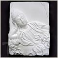 Sleeping Quan Yin White Porcelain Tile