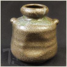 Green Earth Wine Jar Bud Vase