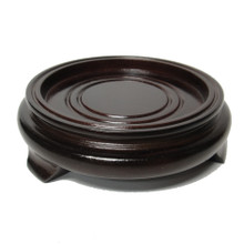 "Rosewood Round Stand 2"" ~ 4"""