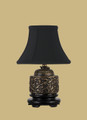 Brass Crane Incense Lamp B/8CBK