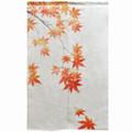 Autumn Maple Linen Noren