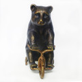 Metal Bear on Trike Paperweight