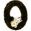 Oval Magnolia Wreath