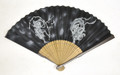 God of Thunder and Wind Black Fan