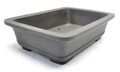 Purple Clay Rectangular Bonsai Pot 7x5x2in