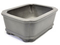 Purple Clay Round Bonsai Rec Pot 5x4x2in