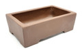 Purple Clay Rectangular Bonsai Pot 5.5x3.5x1.25in