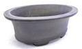 Purple Clay Oval Bonsai Pot 13x10x4in