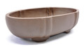 Purple Clay Oval Bonsai Pot 6.5x3.5x1.5in